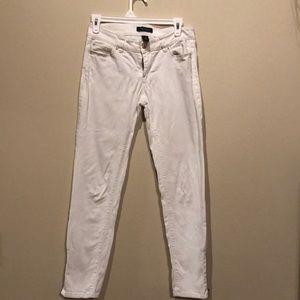 WHBM White Skimmer Jeans